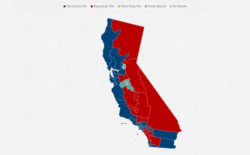 Thoughts on Trump's election and California's partisan divide